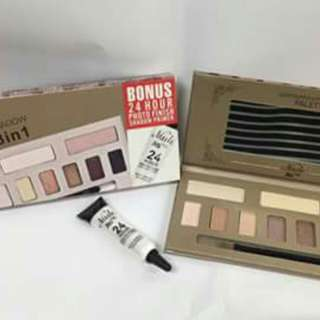 ASHLEY NUDE CONTOURING AND EYESHADOW PALETTE