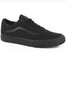 New Vans old school, size 8! Worn once, selling due to wrong size