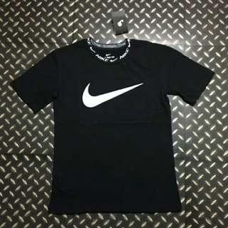 🚚 Nike 古著針織logo嘻哈復古短t