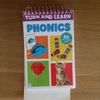 Phonics Turn And Learn 60 Pages