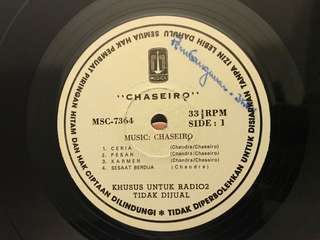 Vinyl / Piringan Hitam Chaseiro - Ceria