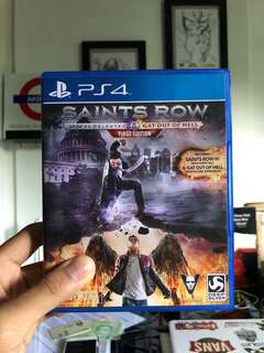 SAINTS ROW IV GAT OUT OF HELL (PS4)