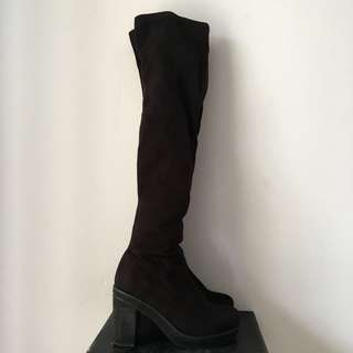 House of Avenues Thigh High Boots