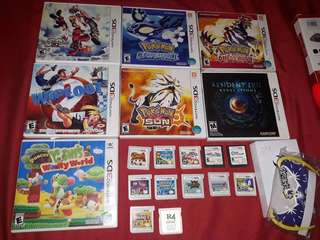 UPDATED 3ds games for sale