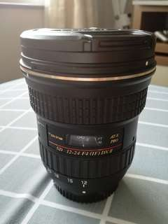 Tokina AT-X PRO 12-24mm F4 (IF) SD DX II for Nikon