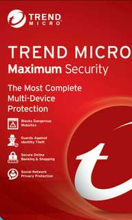 Trend Micro 2018 Max Security