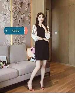 SG Black Dress