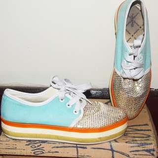 Sequins Human shoes