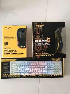Armaggeddon mouse keyboard headset