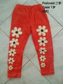 Baby girl flower Legging