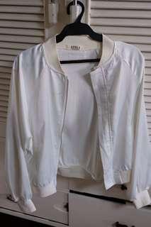 White Satin Jacket