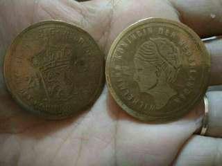Koin wilhelmina 2,5 G th 1816