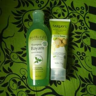 Get Shampo and Facial Wash