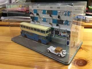 中巴LF106(藍色)公屋情景