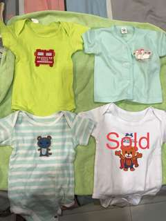 Baby boy assorted clothes for babies 0-4 months