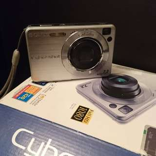 Sony Cybershot Digital Camera DSC-W110
