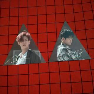 [WTS] GOT7 Mark & Jinyoung 7for7 Triangle Pc