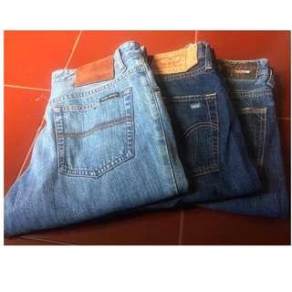 Borongan celana jeans