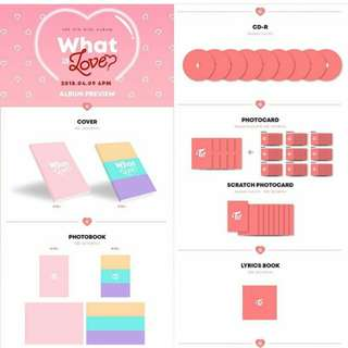 Twice Unsealed What is Love Album