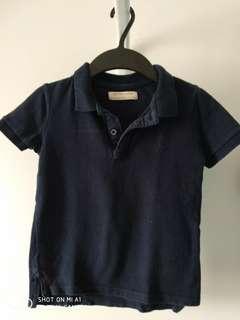 Zara Polo Shirt for Boys Size 6