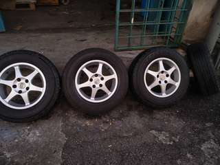 Nissan x-trail rims and tyre
