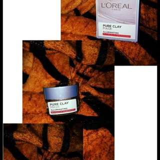 Pure Clay Mask Loreal