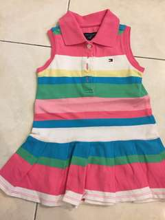 TOMMY HILFIGER DRESS 12mth