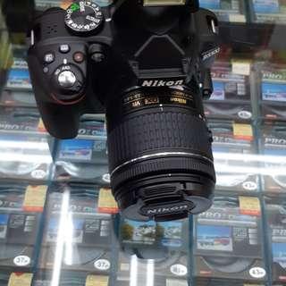 CAMERA Nikon D3300 Bisa cicilan tanpa ribet