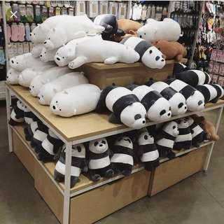 We Bare Bears Plush (ONLY BROWN)