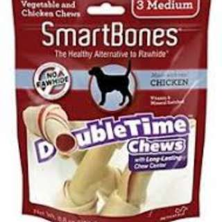 SmartBones Double Time Chews Chicken Medium (3 pcs)