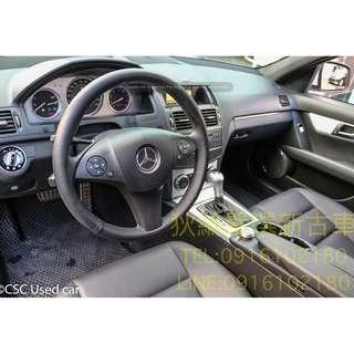 08年 Mercedes-Benz w204 C300 白