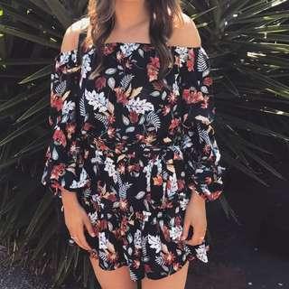 Petal and pup dress