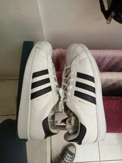 Adidas Superstar White List Black