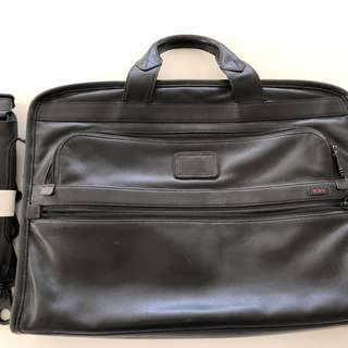 Tumi Leather Briefcase