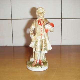 早期外國人偶造型 陶瓷