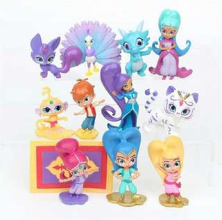 $25 Shimmer and Shine Cake Topper Toys Figurine