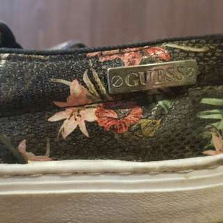 NAME YOUR PRICE | Preloved Authentic Guess Floral Slip ons