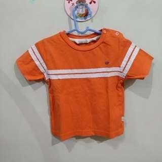 Periwrinkle orange shirt