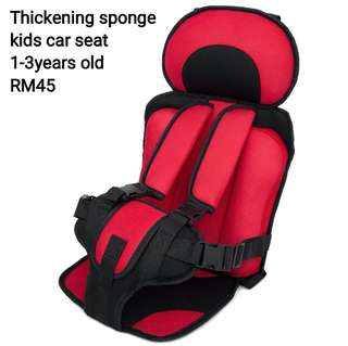 Thickening sponge kids Car Seat