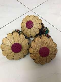 Coconut coin bag