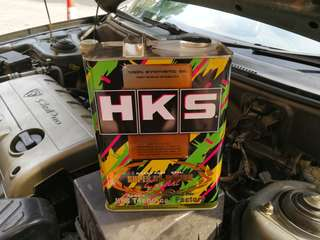 HKS 5w40 Super NA Racing Fully Engine Oil 4L