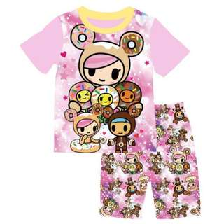 Unicorno and Donutella tshirt set(stocks coming in early May)