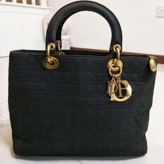 Nylon Dior Cannage Bag