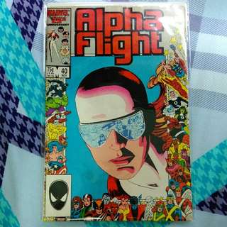 Alpha flight 40 (anniversary issue)