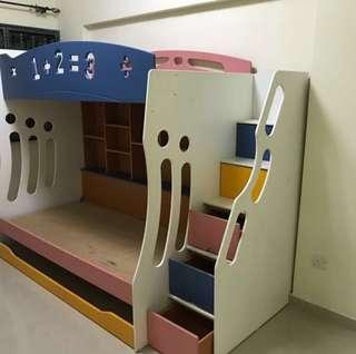 Double Deck Bed no mattress