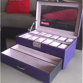 Rozel Watch Jewellery Storage Box