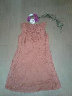 Brown sunday dress - medium