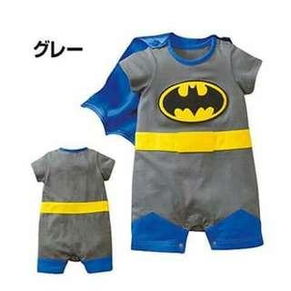 Batman Baby Costume Romper