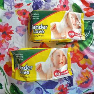 Tender Care Baby Wipes