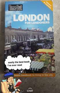 London for Londoners (travel guide by Timeout)